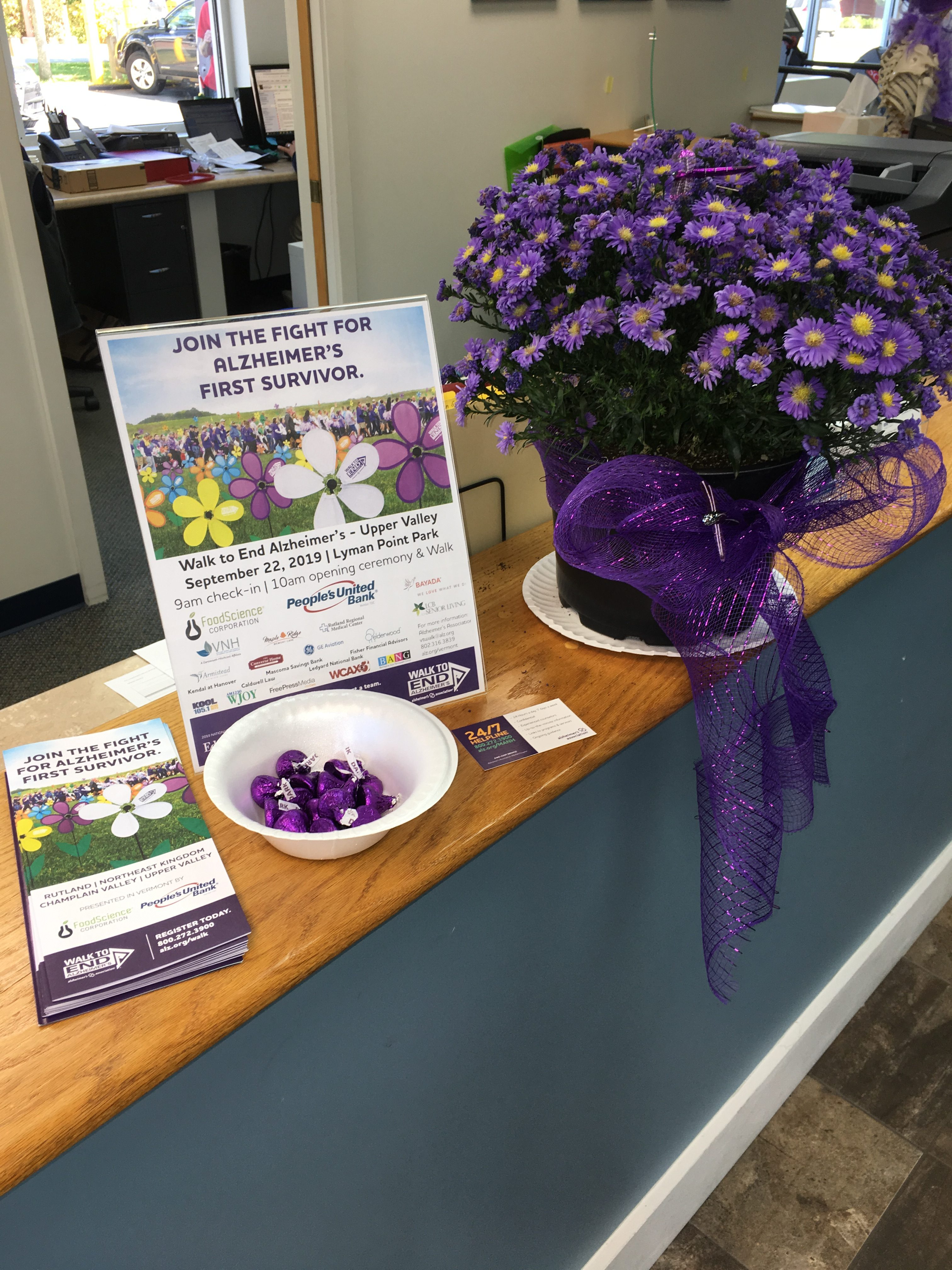 BE Fit goes purple for Alzheimer's!